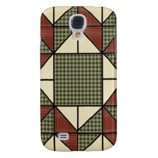GrandMa's Quilt Pattern Speck Case iPhone 3G/3GS Samsung Galaxy S4 Cover