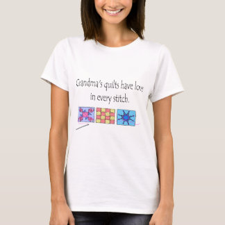 Grandma's Quilts T-shirts and Gifts.