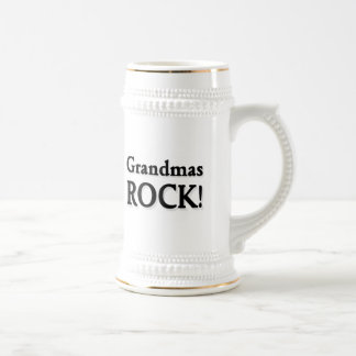 Grandmas ROCK! Beer Steins