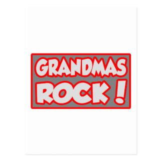 Grandmas Rock Postcard