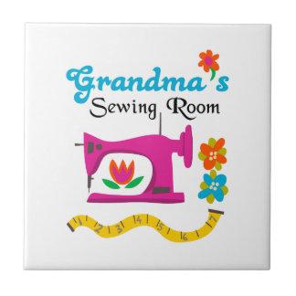 GRANDMAS SEWING ROOM TILE