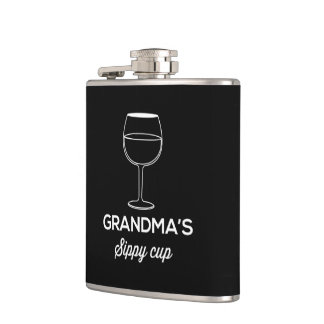 Grandma's Sippy Cup Hip Flask