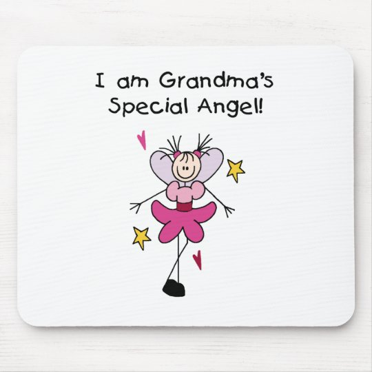 Grandma's Special Angel Mouse Pad