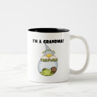 Grandma's Sunshine-African American Boy Mugs