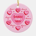Grandma's Sweethearts Personalised Ornament