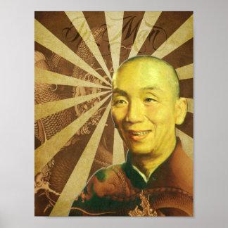 "Grandmaster ""Ip Man"" Wing Chun - Kung Fu Poster"