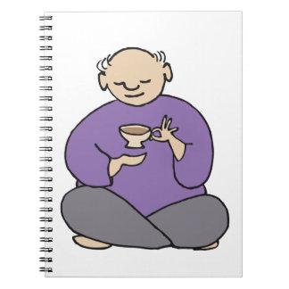Grandmaster of the Tea Kettle Fred Note Books