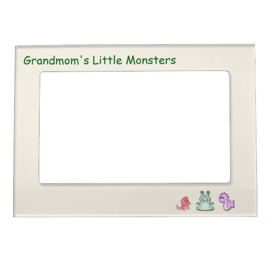 Grandmom's Little Monsters Magnetic Picture Frame