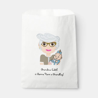 Grandmother Baby Shower Favor Bag