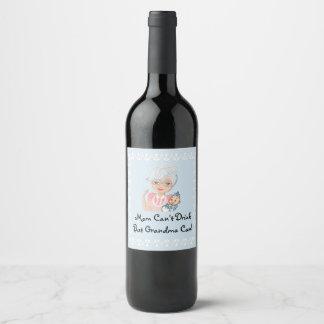 Grandmother Baby Shower Label