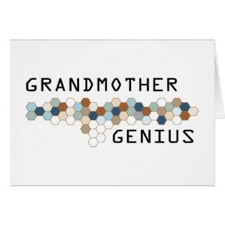 Grandmother Genius Cards