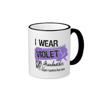 Grandmother Hodgkins Lymphoma Ribbon Coffee Mugs