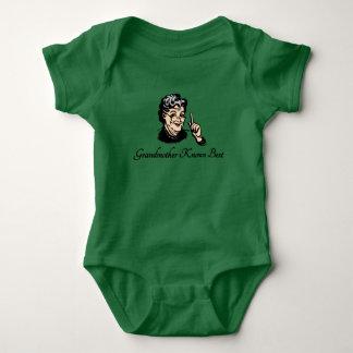 Grandmother Knows Best Baby Bodysuit