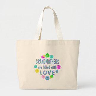 Grandmother Large Tote Bag