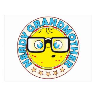 Grandmother Nerdy Postcard