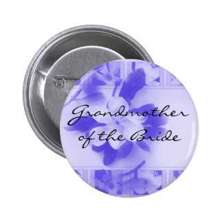 Grandmother of the Bride 6 Cm Round Badge