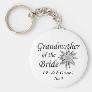 Grandmother of the Bride Keychains