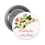 Grandmother of the Bride Spray of Flowers Floral Badges