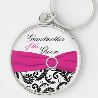 Grandmother of the Groom Keychain