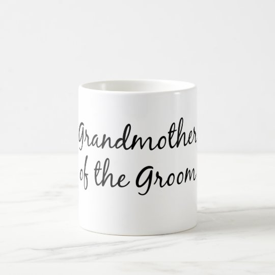 Grandmother of the groom mug