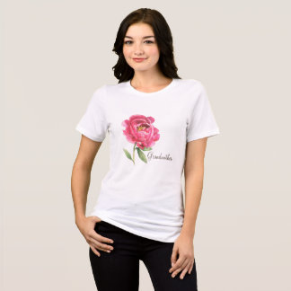 Grandmother Peony Shirt Mother's Day Gift