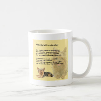 Grandmother Poem - Yorkshire Terrier Coffee Mug