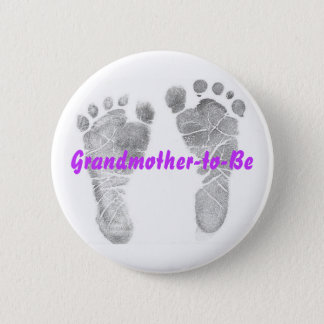 Grandmother-to-Be 6 Cm Round Badge