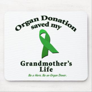 Grandmother Transplant Mousepads