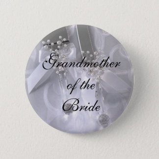 Grandmotherof theBride 6 Cm Round Badge