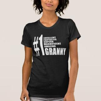 Grandmothers Birthdays : Number One Granny T-Shirt