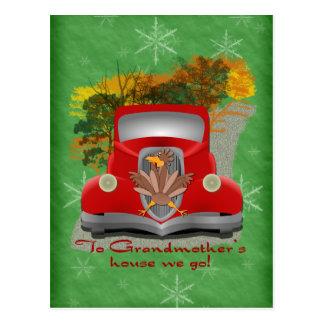 Grandmother's House Holiday Postcard