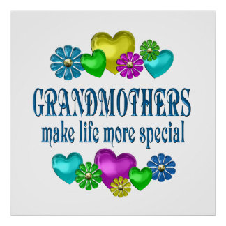 Grandmothers More Special Poster