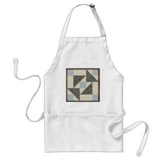 Grandmother's Puzzle Blues and Greys Aprons