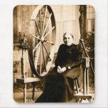 Grandmother's Spinning Wheel  Louis Pesha Mousepads