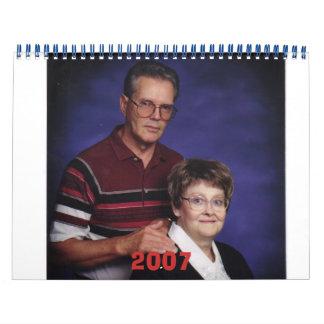 Grandpa and Grandma, 2007 Wall Calendar