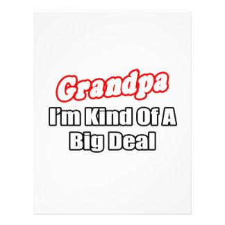 Grandpa Big Deal Flyers