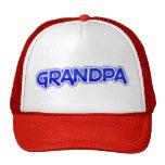 Grandpa (blue lettering) hats