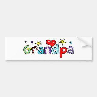 Grandpa Bumper Stickers