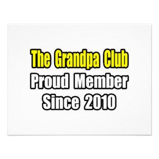 Grandpa Club...Since 2010 Personalized Invitations