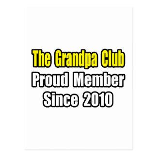 Grandpa Club Since 2010 Postcard