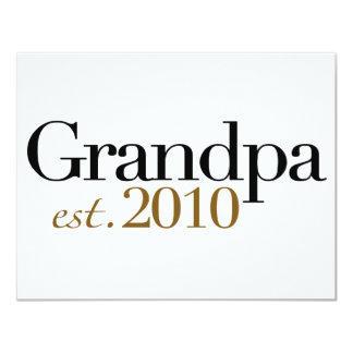 Grandpa Est 2010 Announcements