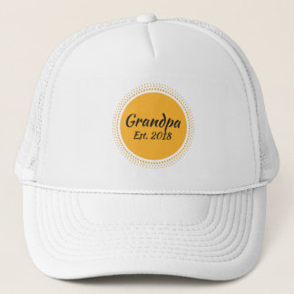 Grandpa Est. 2018, New Grandfather Hat