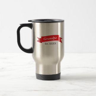 Grandpa Est. XXXX Travel Mug