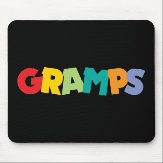 Grandpa Gifts Mouse Pads