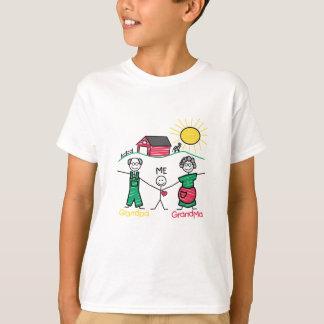 Grandpa Grandma & Me T-Shirt