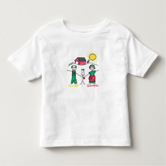 Grandpa Grandma & Me Toddler T-Shirt