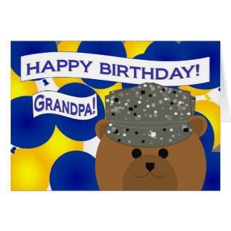 Grandpa - Happy Birthday Air Force Active Duty! Greeting Card