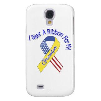 Grandpa - I Wear A Ribbon Military Patriotic Galaxy S4 Covers