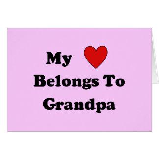 Grandpa Love Card