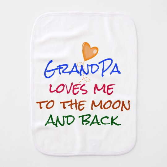 Grandpa Loves Me to the Moon and Back